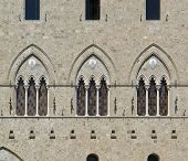 Architectural Detail In Siena