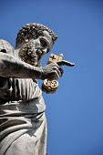 stock photo of day judgement  - The statue of St - JPG