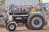 International Mr. Black Tractor Up Close