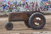 Old Farm Tractor Pulling