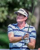 Keegan Bradley At The 2012 Barclays