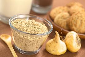 image of ginseng  - Powdered Maca or Peruvian ginseng  - JPG