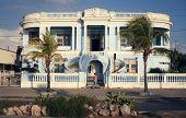 Beautiful Blue House In Cienfuegos, Cuba