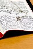 Rosary Bible Page - Peter