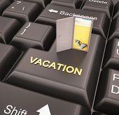 Vacation Enter Key