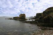 Rocks At Meenogahane Pier