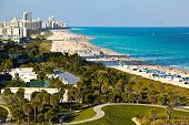 picture of highrises  - South Beach - JPG