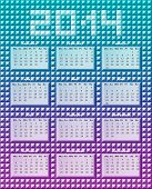 Calendario Prizm
