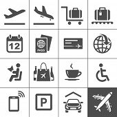 picture of carry-on luggage  - Universal Icon Set - JPG