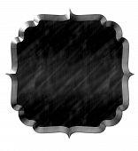 Cute Frame Wavy Black