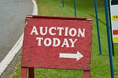 Auction Sign