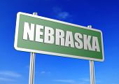 image of nebraska  - Nebraska  image with hi - JPG