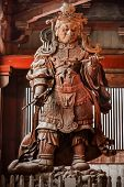 Komokuten at Todaiji Temple in Nara