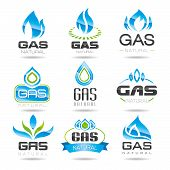 foto of gas-pipes  - natural gas can be used in areas such as the design of ready - JPG
