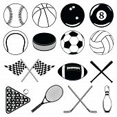 stock photo of pool ball  - Illustration of balls and other sports related Items - JPG