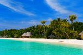 Beach At A Tropical Island