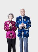 Portrait Of A Senior Chinese Couple