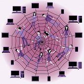 Soziales Netzwerk.