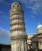 Torre inclinada de Pisa.