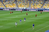 Football Game Fc Dynamo Kyiv Vs Zorya Luhansk