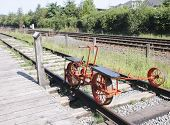 Antique Pump Trolley