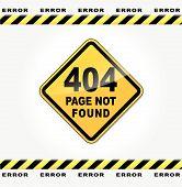 Vector Webpage Error