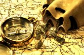stock photo of gold mine  - Gold Rush Concept - JPG