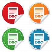 File document icon. Download doc button.