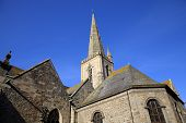 St. Vincent church. Saint-Malo. France