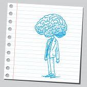 Big brain man