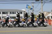 Side view Highway Patrol Formation