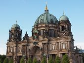 pic of dom  - Berliner Dom cathedral church in Berlin Germany - JPG