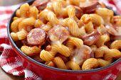 pasta with smoked sausage