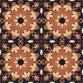 foto of marquetry  - Abstract artistic pattern - JPG