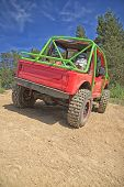 Red Offroad Car