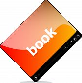 Book On Media Player Interface