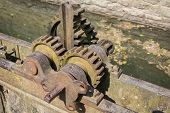 Vintage Iron Gear Wheels