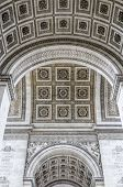 Постер, плакат: Detail Of The Underneath Of The Arc De Triumph