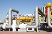 stock photo of pipeline  - Pipeline system - JPG