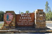 Bryce Canyon National Park Sign