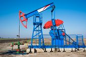 oil industry pumpjack