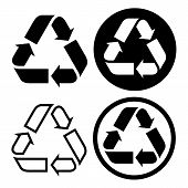 Recycle Symbol Set