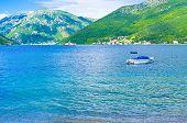The Ferry In Kotor Bay