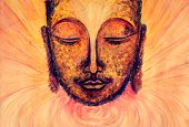 picture of gautama buddha  - Serene smile of the Buddha - JPG