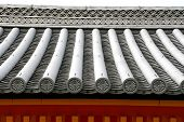 Japanese style roof top