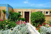 The Building Of Luxury Villa, Crete, Greece