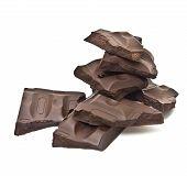 Broken chocolate