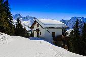 Winter mountains, Austrian Alps