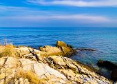 Idyllic Island Rocky Bay