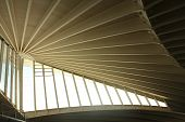 stock photo of calatrava  - Geometric architecture Calatrava - JPG